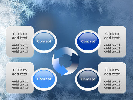 Snow Play PowerPoint Template Slide 9
