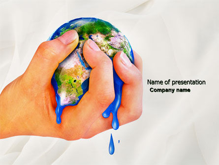 Global: Resource Depletion PowerPoint Template #04406
