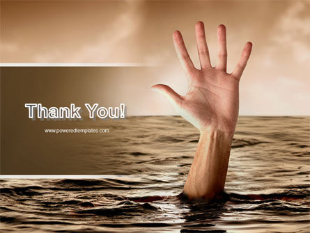 Drowning PowerPoint Template Slide 20