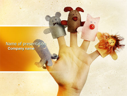Finger Puppet PowerPoint Template