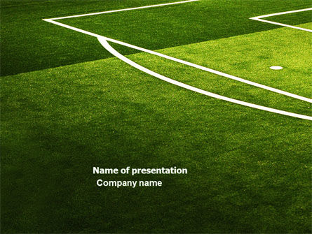 Football Duel PowerPoint Template, 04410, Sports — PoweredTemplate.com