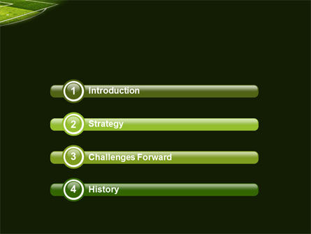 Football Duel PowerPoint Template, Slide 3, 04410, Sports — PoweredTemplate.com
