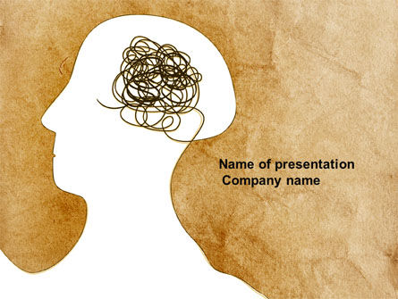 Business Concepts: Twisted Mind PowerPoint Template #04412