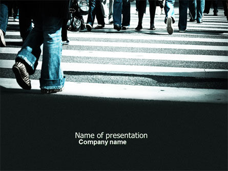 People: Social Psychology PowerPoint Template #04417