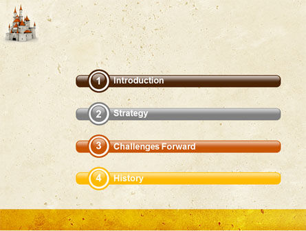Castle PowerPoint Template, Slide 3, 04419, Construction — PoweredTemplate.com