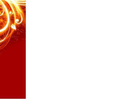 Flame Frame PowerPoint Template, Slide 3, 04420, Abstract/Textures — PoweredTemplate.com