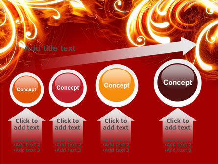 Flame Frame PowerPoint Template Slide 13
