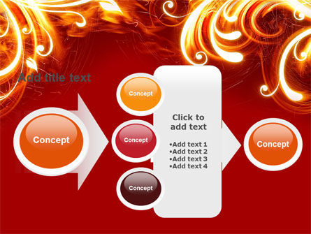 Flame Frame PowerPoint Template Slide 17