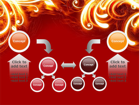 Flame Frame PowerPoint Template Slide 19