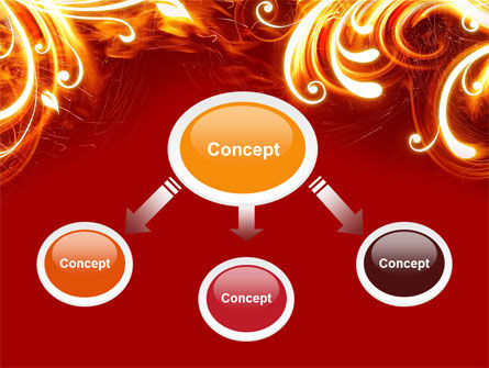 Flame Frame PowerPoint Template Slide 4