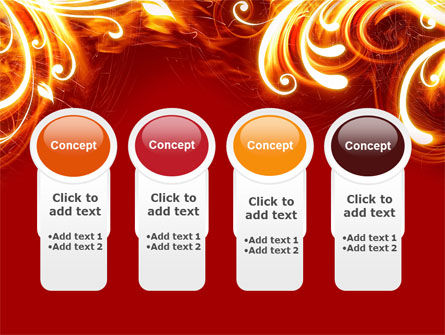 Flame Frame PowerPoint Template Slide 5
