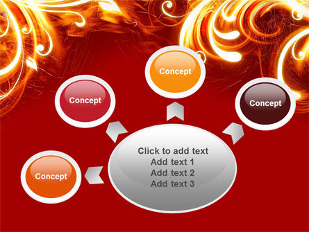 Flame Frame PowerPoint Template Slide 7
