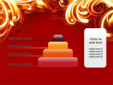 Flame Frame PowerPoint Template Slide 8