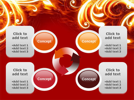 Flame Frame PowerPoint Template Slide 9