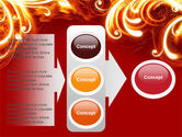 Flame Frame PowerPoint Template#11