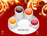 Flame Frame PowerPoint Template#12