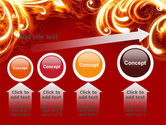 Flame Frame PowerPoint Template#13