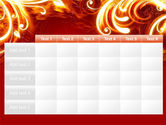 Flame Frame PowerPoint Template#15