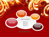 Flame Frame PowerPoint Template#16