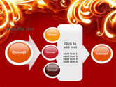 Flame Frame PowerPoint Template#17