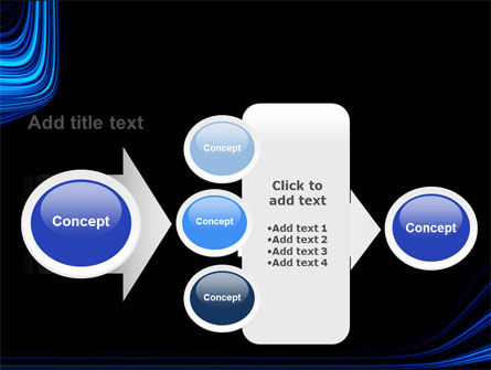 Blue Stripes PowerPoint Template Slide 17