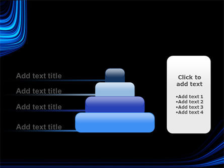 Blue Stripes PowerPoint Template Slide 8