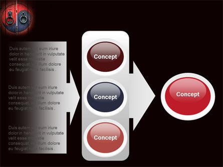 Zen Door PowerPoint Template Slide 11