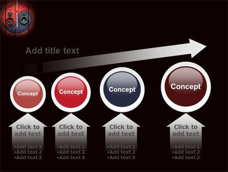 Zen Door PowerPoint Template Slide 13