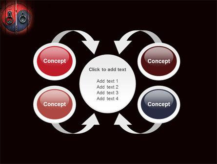 Zen Door PowerPoint Template Slide 6