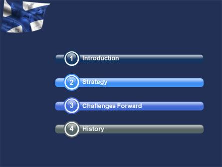 Finland PowerPoint Template, Slide 3, 04427, Flags/International — PoweredTemplate.com