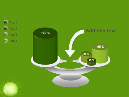 Green Circle Free PowerPoint Template Slide 10