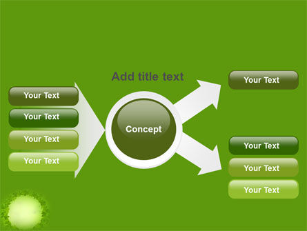 Green Circle Free PowerPoint Template Slide 14