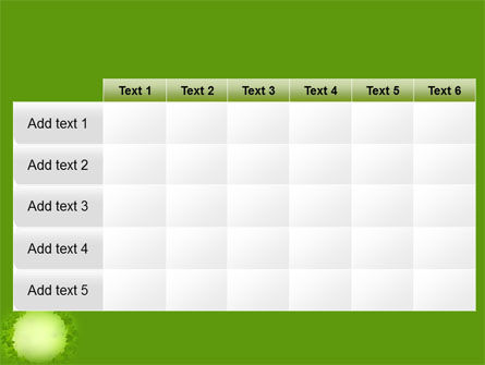 Free Green Circle PowerPoint Template Slide 15