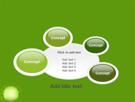 Free Green Circle PowerPoint Template Slide 16