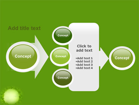 Free Green Circle PowerPoint Template Slide 17