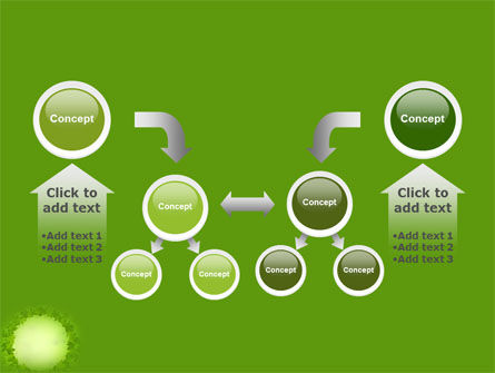 Green Circle Free PowerPoint Template Slide 19