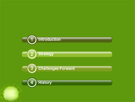 Green Circle Free PowerPoint Template Slide 3