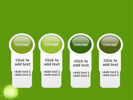 Free Green Circle PowerPoint Template Slide 5