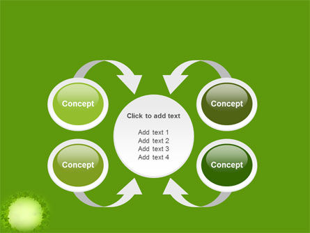 Free Green Circle PowerPoint Template Slide 6