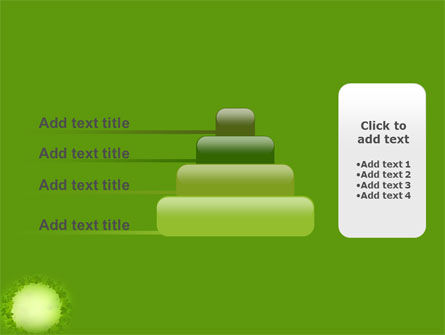 Free Green Circle PowerPoint Template Slide 8