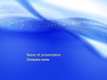 Sparkle PowerPoint Template, 04430, Abstract/Textures — PoweredTemplate.com