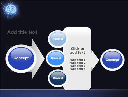 Brain Waves PowerPoint Template Slide 17