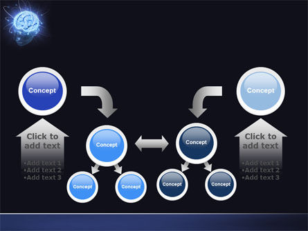 Brain Waves PowerPoint Template Slide 19