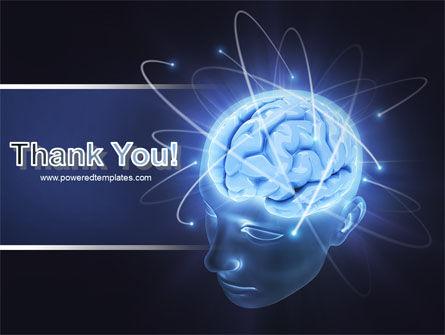 Brain Waves PowerPoint Template Slide 20