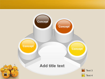 Yellow Apples PowerPoint Template Slide 12