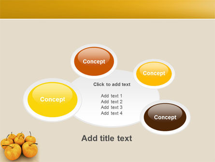 Yellow Apples PowerPoint Template Slide 16