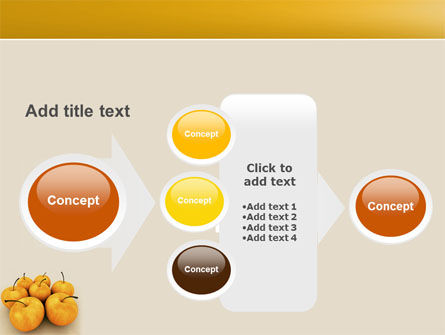 Yellow Apples PowerPoint Template Slide 17