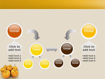 Yellow Apples PowerPoint Template Slide 19