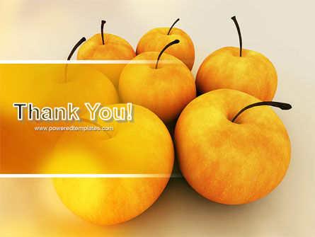 Yellow Apples PowerPoint Template Slide 20