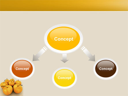 Yellow Apples PowerPoint Template, Slide 4, 04439, Agriculture — PoweredTemplate.com
